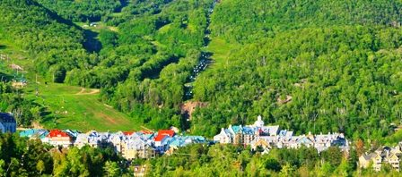 Tremblant City and Lake